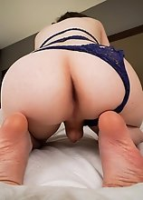 Zelda Cross is a super cute girl with an amazing body and a yummy booty! Watch beautiful Zelda posing and stroking her cock until she cums!