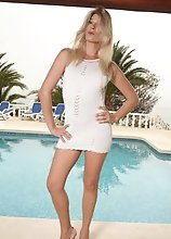 Angelina is the Poolside Hottie in your Dreams