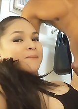 Slut TS Vitress Tamayo sucking and fucking baaaaad